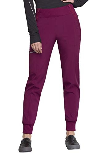 CHEROKEE Infinity Mid Rise Jogger, CK110A, XL, Wine