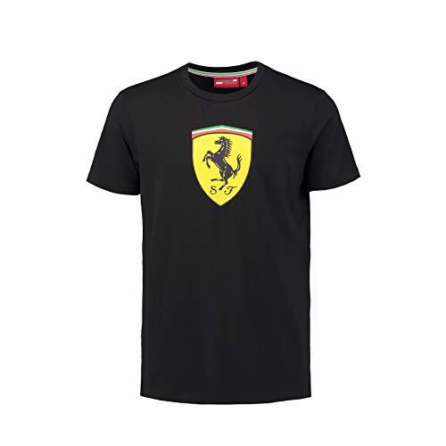 Camiseta Oficial Ferrari Scuderia Classic F1 - Negro - L