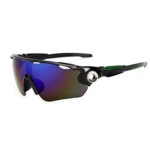 Mazu Homee Gafas de ciclismo bicicleta de montaña hombres y mujeres a prueba de viento deportes al aire libre gafas de montar equipo gafas de sol de esquí (opcional)