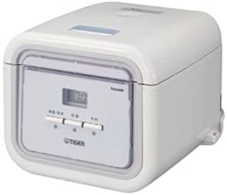 Tiger JAJ-A55S (WS) 0.54L Tacook Microcomputer Rice Cooker - Simple White (WS)
