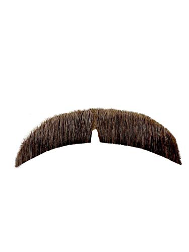 Rubie's Basic Character Mustache, Light Brown [Apparel] White One Size