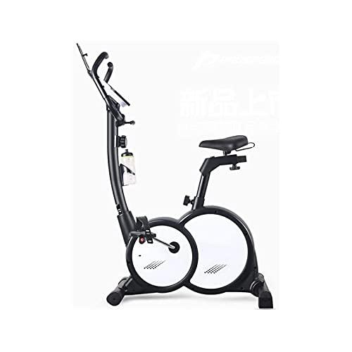 DJDLLZY Bicicleta de Ejercicio Portátil Ajustable Ultra Silencioso Control Magnético Vertical Equipamiento de Fitness Bicicleta para Hacer Deporte en Casa (Tamaño: 138 * 107 * 54cm)