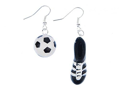 Fußball Fußballschuh Ohrringe Hänger Miniblings WM Schuhe Turnschuhe Kicker EM