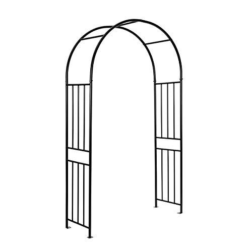 S AFSTAR Metal Garden Arch for Wedding, Plants Climbing Pergola, Decoration Arbor for Party Garden