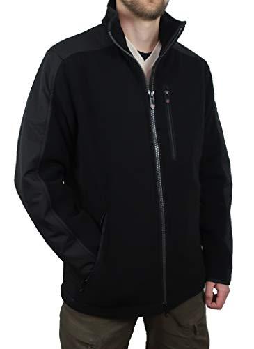 Wellensteyn Herren Fleecejacke Jet-Jacket Sport Herren Fleecejacke, Größe:S, Farben:Black