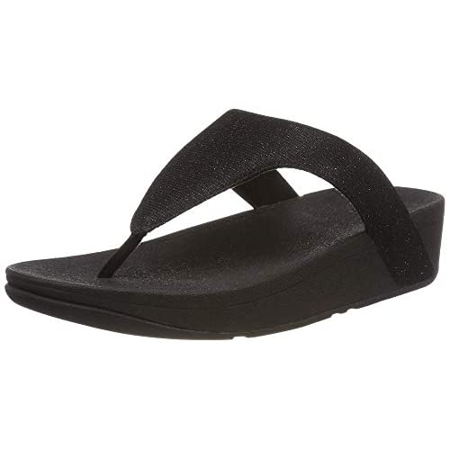 Fitflop Women's Lottie Toe Post – Holiday Glitz Open Sandals