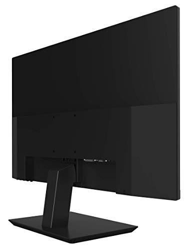 HKC 24S2-EU/UK Full HD Monitor 24 Zoll (VGA, HDMI, VA Panel, 1920 x 1080 Pixel, 60 Hz) schwarz