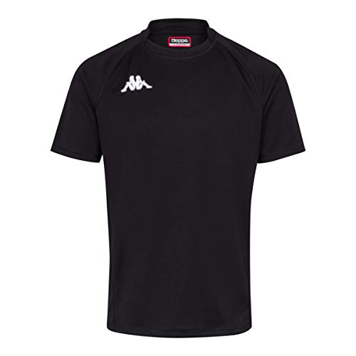 Kappa - Enfant - Maillot Rugby Telese - Man - 14Y - Noir