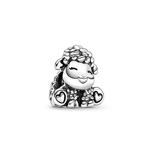 Pandora Patti das Schaf Charm, Silber, 1,4cm, 798870C00