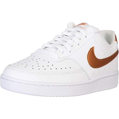 Nike Court Vision Low Women - Zapatillas deportivas para mujer, color Blanco, talla 38.5 EU