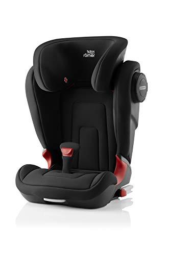 Britax Römer Kindersitz 3,5 - 12 Jahre I 15 - 36 kg I KIDFIX 2 S Autositz Gruppe 2/3 I Cosmos Black