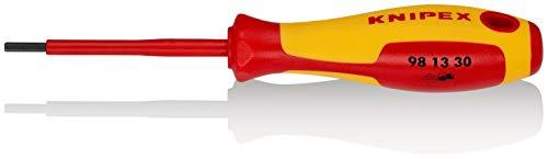 KNIPEX 98 13 30 Destornillador para tornillos de cabeza hexagonal 182 mm