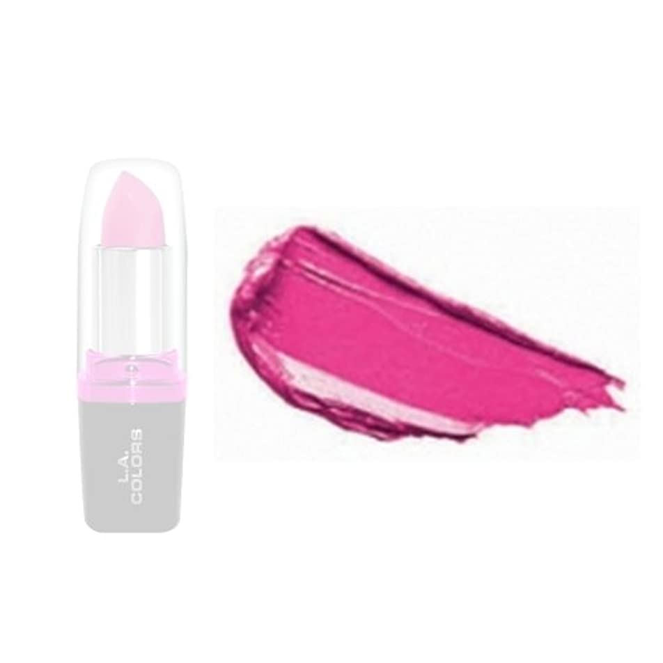 ペネロペ貫入快適(6 Pack) LA Colors Hydrating Lipstick - Forever (並行輸入品)