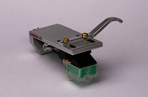Headshell Cartridge Mount, Eliptical Stylus, Needle for Pioneer PLX-1000, PL-518, PL-530, PL-A35, PLX-500, PL-560, PL-200, PL-516, PL-255, PL-200X, XL-A700, PL-A45D, PL-A450, - MADE IN ENGLAND