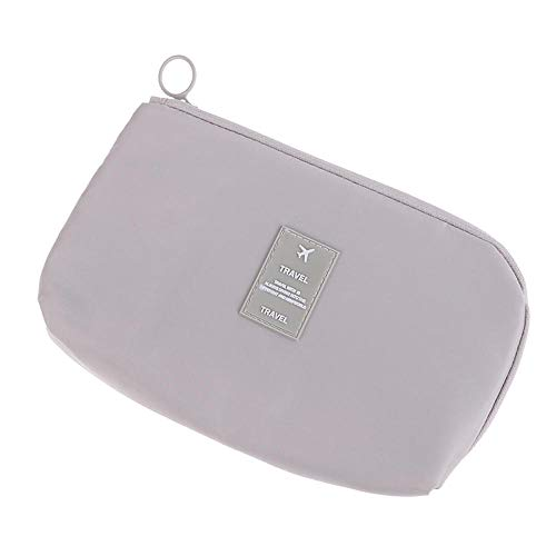 7 Styles Cosmetic Bag Travel Waterproof Portable Flamingo Makeup Bag Toiletry Women15 * 23CM-Beige_15 * 23CM