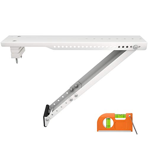 LuckIn Sturdy Universal Air Conditioner Bracket, Heavy Duty AC Window Air Conditioner Support, Come with Leg Extender,...