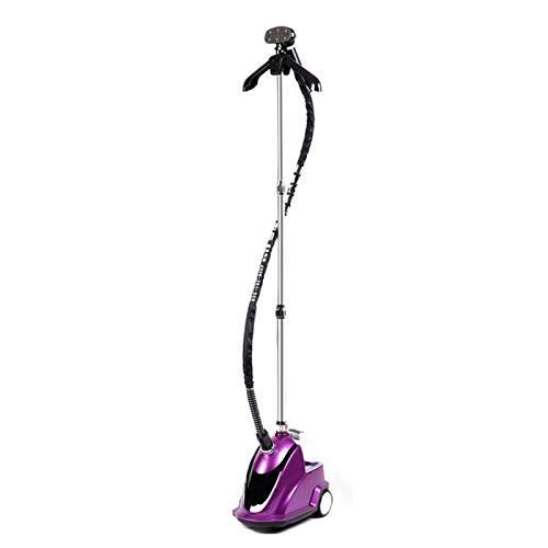 guoda Dampfbügeleisen Dampfer for Kleidung Dampfer Kleidung Dampfer-High Power Gewerbe/Home/Vertikal Bügeleisen schnelles Bügeln/Geeignet for alle Arten von Stoffen (Color : Purple)