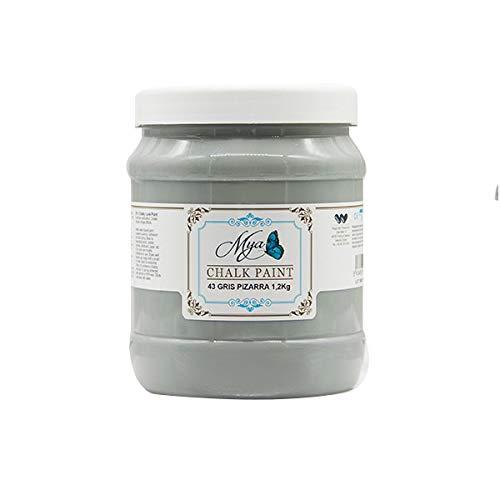 Chalk Paint MYA 43 Gris Pizarra, 1.2kg