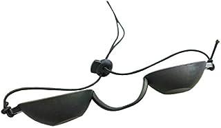 Hacbop Flexible Uv Eye Indoor & Outdoor Sunbed Tanning Goggles Beach Sunbathing Eyewear