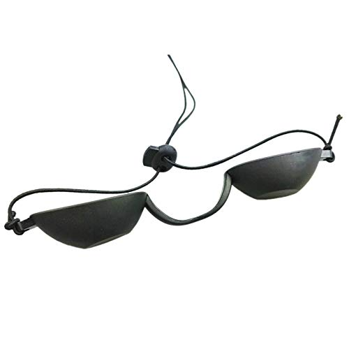 Cuasting Flexibele Uv Oog Binnen & Outdoor Zonnebank Tanning Goggles Strand Zonnebaden Wenkgoed