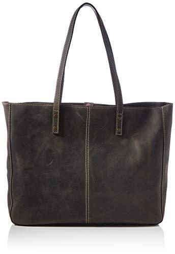Londo Damen OTTO435 Handtasche, Kastanienbraun, One Size