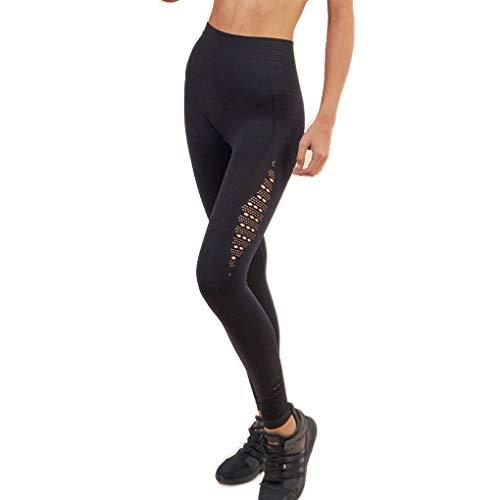 Frauen höhlen Yoga-Hose mit hoher Taille Hüfte Aufzug Hosen Frauen Fitness-Hosen, Frauen Slim Slim Fit Fitness Bleistift Hose