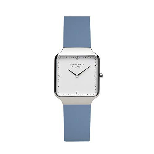 BERING Damen Analog Quartz Uhr mit Edelstahl Armband 15832-700