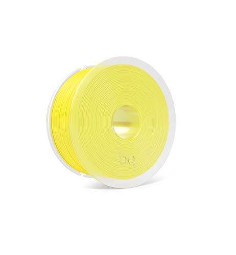 BQ Easy Go - Filamento PLA de 1.75 mm (100% Pla, Resistente a la Acetona, Rápido Endurecimiento) Color Sunshine Yellow