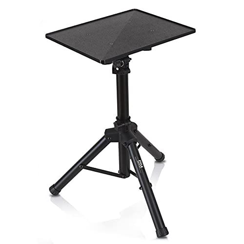 Pyle-Pro Universal Device Projector, Height Adjustable Laptop, Computer DJ Equipment Stand Mount Holder, Good for Stage or Studio-Pyle PLPTS4, 28'' to 46'