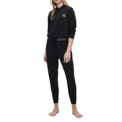 Calvin Klein Women's CK One Cotton Jogger Sweatpants, Black, S