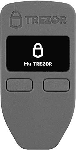 Trezor One - Cryptocurrency Hardware Wallet - The Most Trusted Cold Storage für Bitcoin, Ethereum, ERC20 und Viele Mehr (Grau)