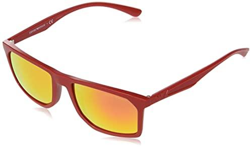 Emporio Armani Gafas de sol EA4164 58276Q Gafas de sol Hombre color Rojo Violeta/Rojo tamaño de lente 57 mm