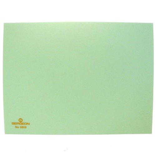 Bergeon 6808-V Plastique Vert Bench - Top Workmat Tapis de travail pour Horloger- KY6808-1