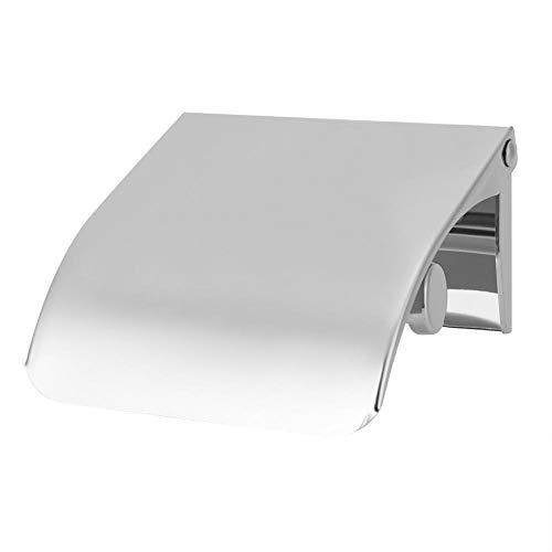 Toasses Soporte de Papel de Inodoro montado en Pared Soporte de Caja de Papel de baño de Acero Inoxidable