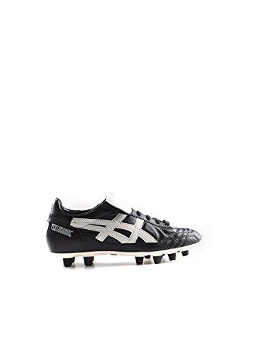 Asics - Botas de fútbol de Material Sintético para Hombre Negro Black/White EU 39-25cm - UK 5 - US 6