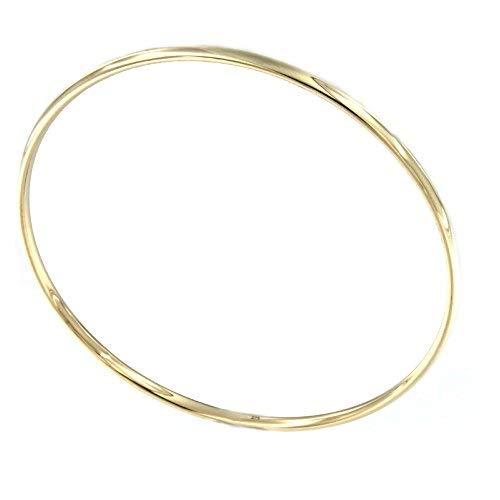 Lucchetta Damen-Armband 9 Karat 375 Gelbgold