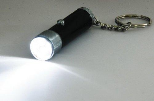 Arcas AFL Schlüsselanhänger LED Taschenlampe inkl. Batterien