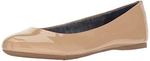 Dr. Scholl's Shoes womens Giorgie Flat, Caravan Sands Patent, 9.5 Wide US