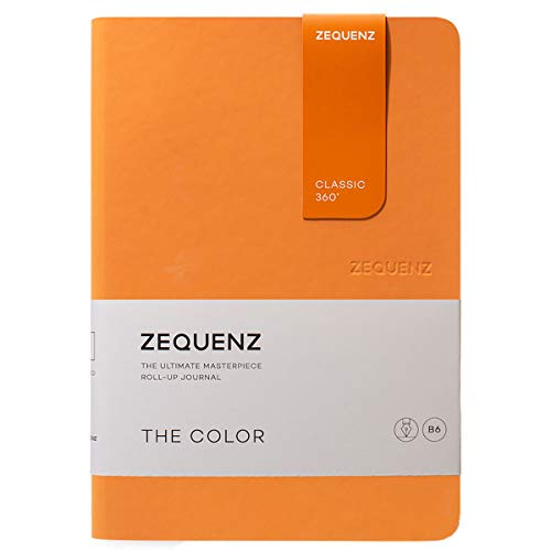 Zequenz Classic 360 The Color B6 Notebook, Dotted, Apricot