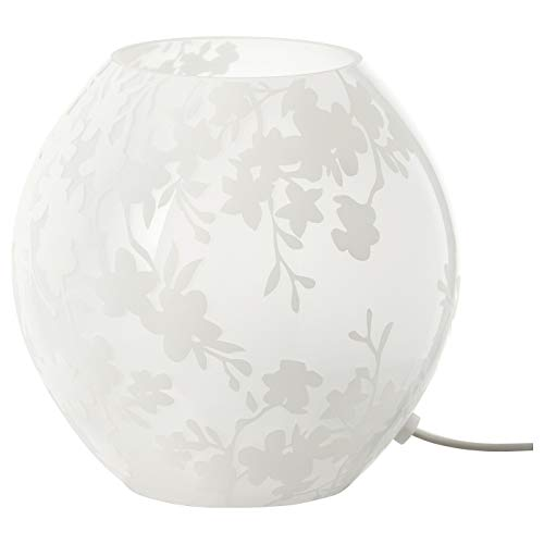 """Ikea Table Lamp Knubbig White Frosted 7"""""""