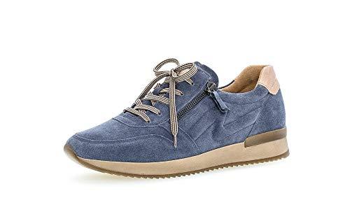 Gabor Shoes Damen 53.422.16 Sneaker, winterblau/Desert, 38.5 EU