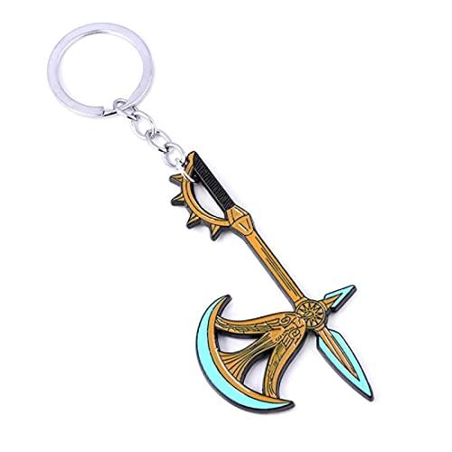 Anime Seven Deadly Sins Escano God Axe Rita Axe Car Key Ring Bottle Opener Keychain Pride Pendulum Pendant