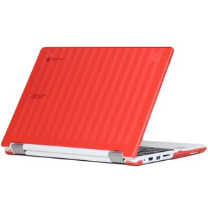 mCover Red liHard Shell Case for 11.6' Acer Chromebook R11 CB5-132T / C738T series (NOT compatible with Acer C720/C730/C740/CB3-111/CB3-131 series) Convertible Laptop (Model: R11 CB5-132T / C738T)
