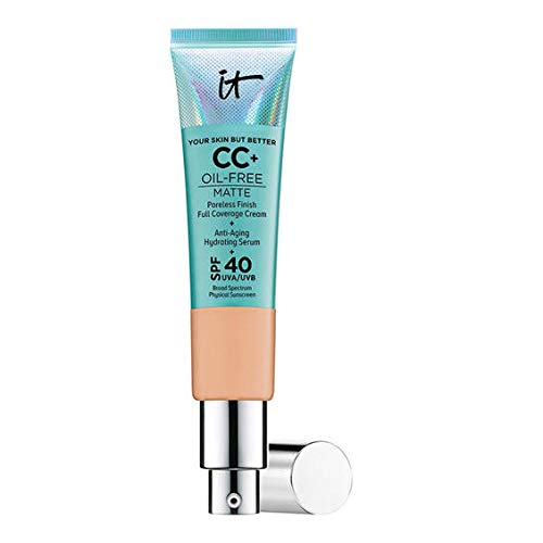 IT Cosmetics Your Skin But Better CC+ Cream with SPF 40+ 32ml (Medium Tan)
