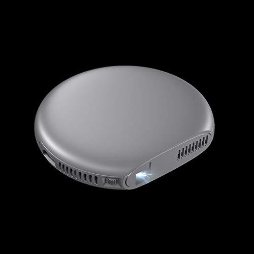 Mini-Tragbarer Videoprojektor Mini-Projektor, Tragbarer Videoprojektor, Unterstützung Full Hd 1080P, Hd 4K Smart Kleiner Schlafsaalventilator WiFi Bluetooth 3D-Heimkino Geeignet Für Heim- / Außenunte