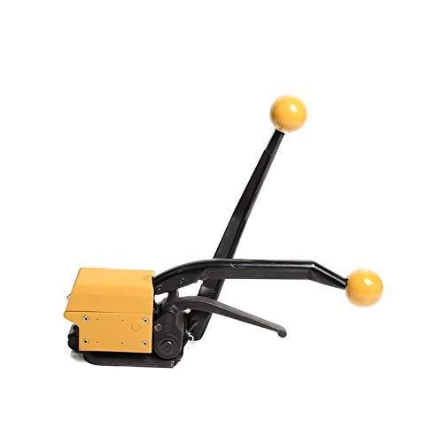 pequeño y compacto Empacadora eléctrica portátil ZHTY, máquina de fleje manual sin hebilla Prensa de banda de acero …
