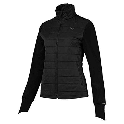 PUMA Damen Winter Jacket W Jacke, Black, L