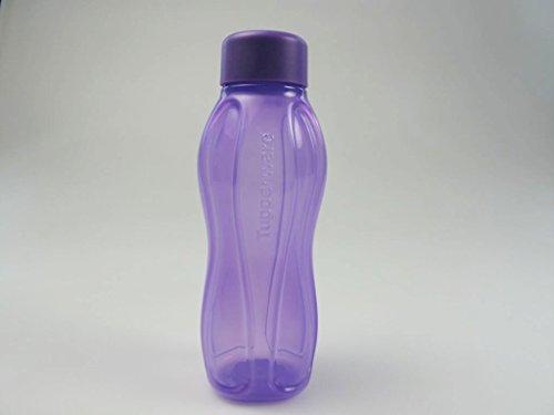 Tupperware eco acqua viola ecoeasy 310 ecoflasche bottiglia ml nuovo