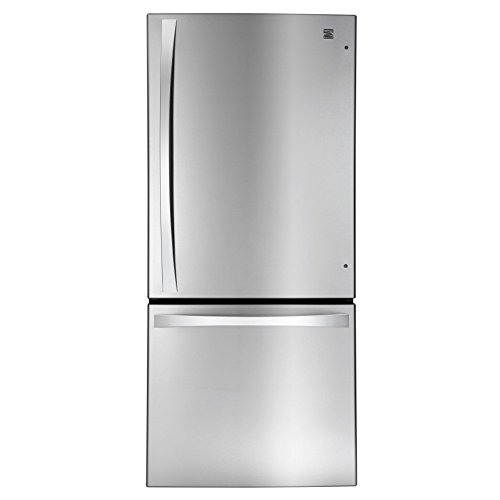 Kenmore Elite 79023 22.1 cu. ft. 2 Door Bottom-Freezer Refrigerator in...