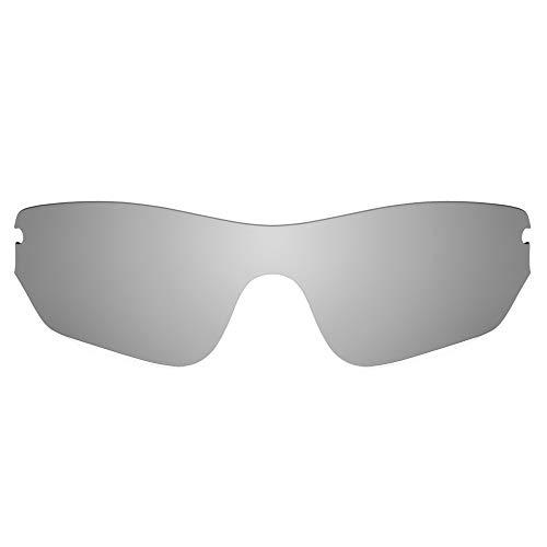 Revant Replacement Lenses for Oakley Radar Edge, Polarized, Titanio MirrorShield